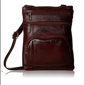 Roma Leather Crossbody Bag